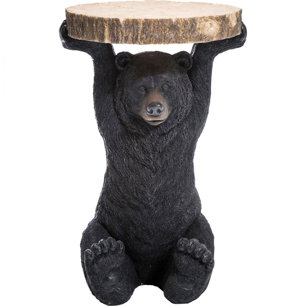 Side Table Animal Bear  Ø40cm