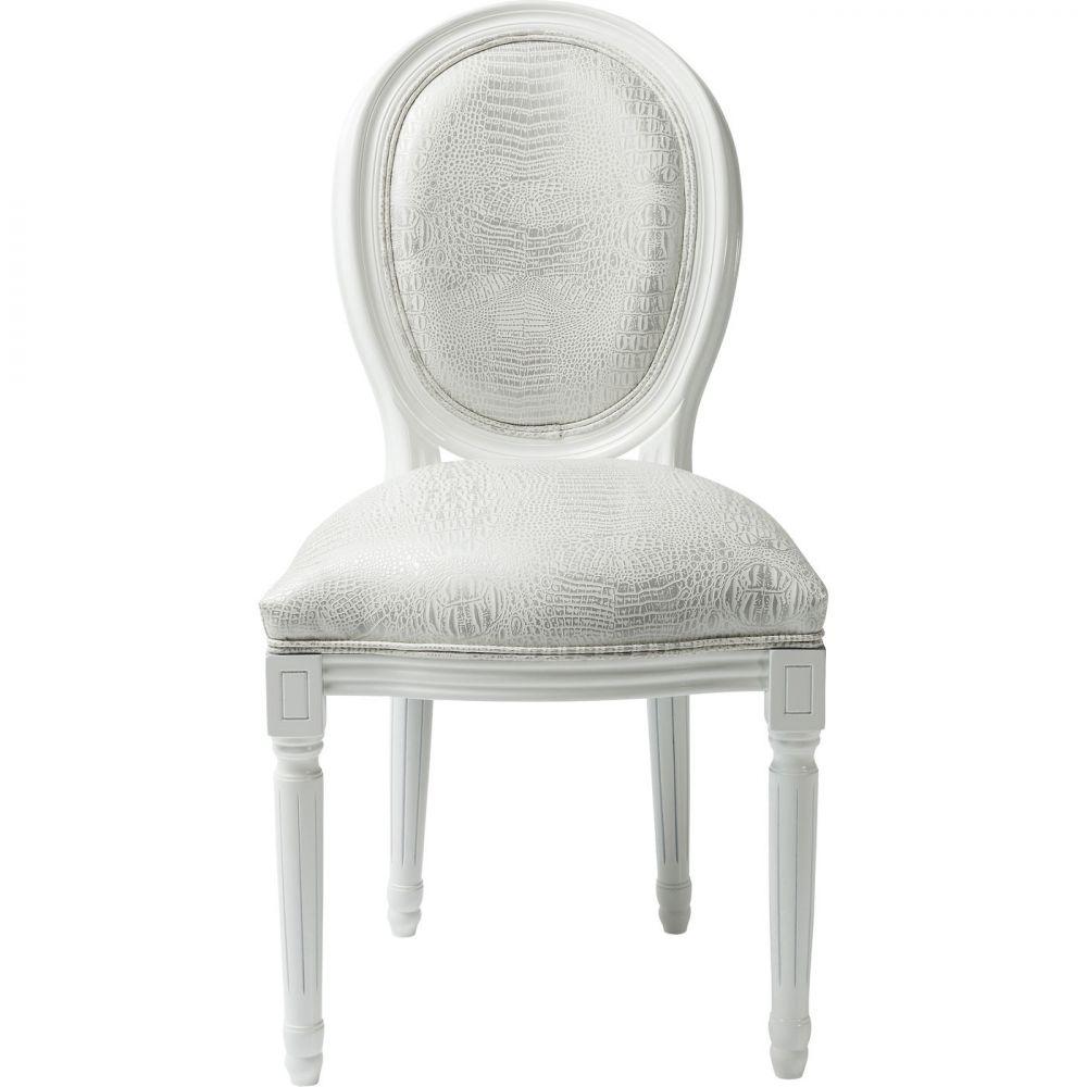 Chair Gastro Louis White Croco