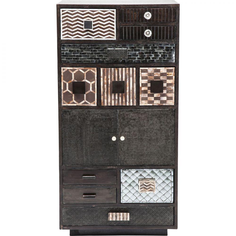 Cabinet Chalet Copper  2 Doors 11 Drw