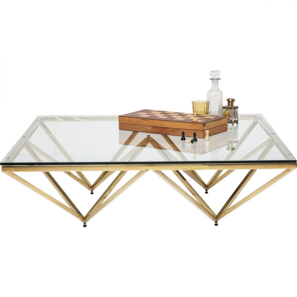 Coffee Table Network Gold 105x105cm