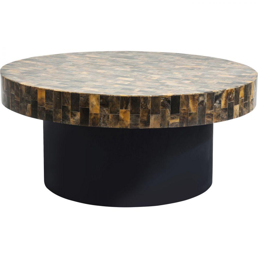 Coffee Table Africano Brown Ø95cm