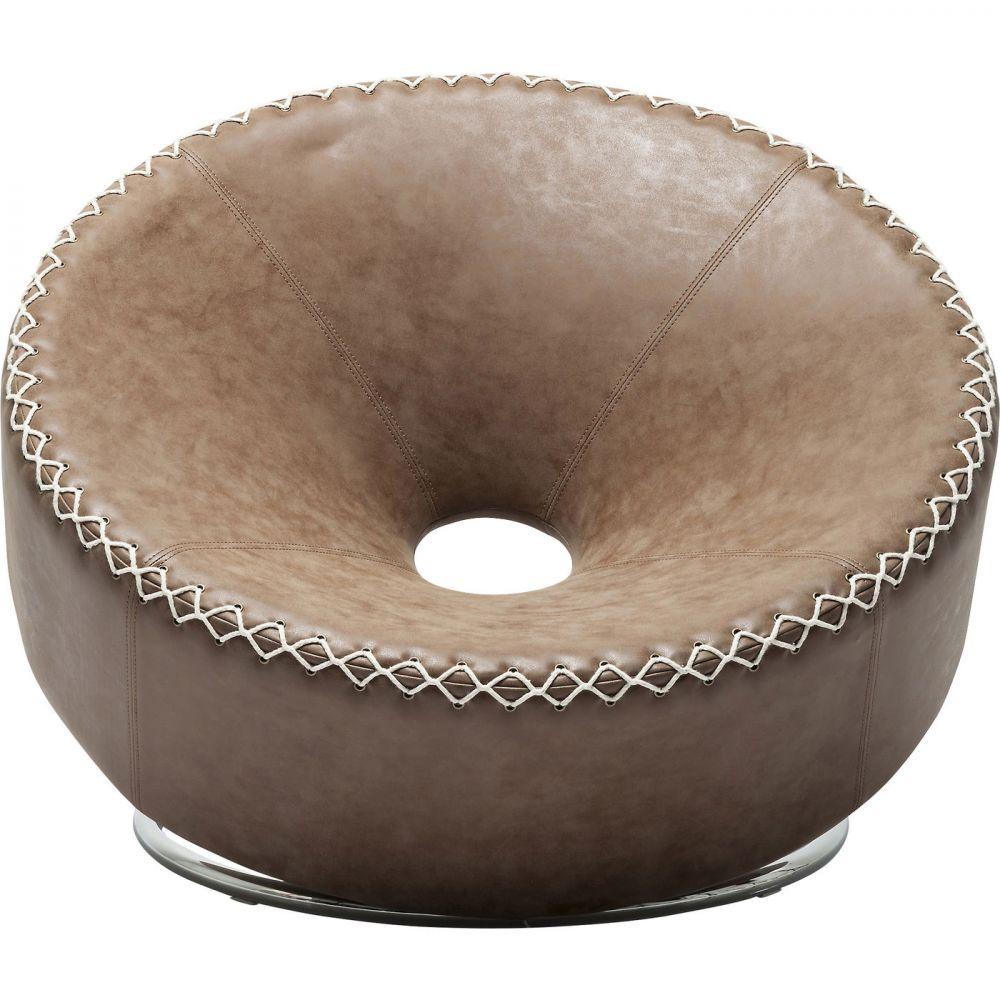 Arm Chair Donut Brown