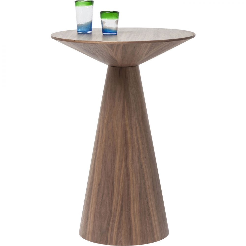 Bar Table Backstage Walnut Ø70cm