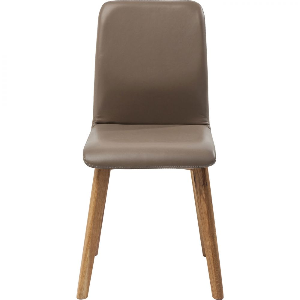 Chair Lara Leather Taupe