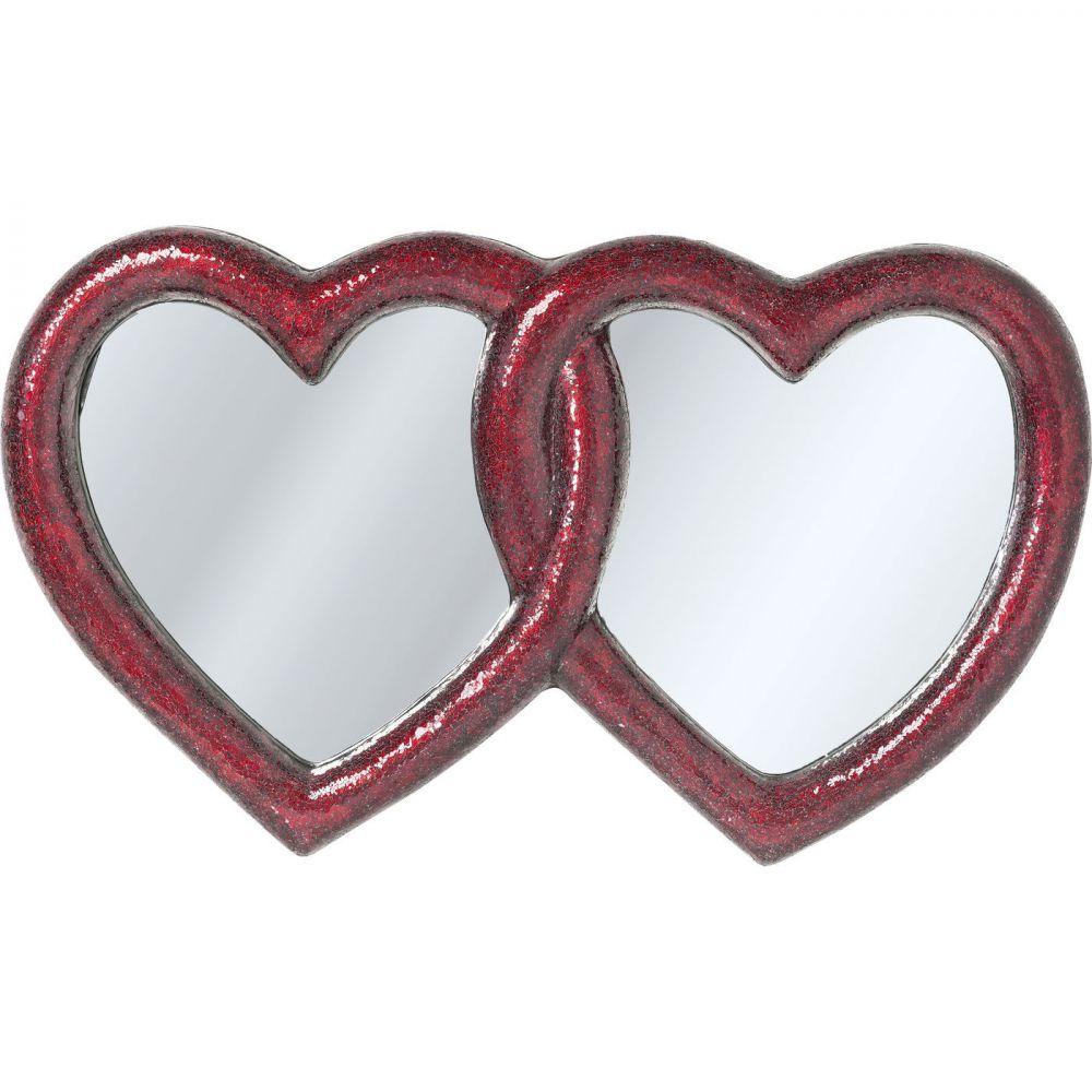 Mirror Mosaik Double Heart 100x165cm