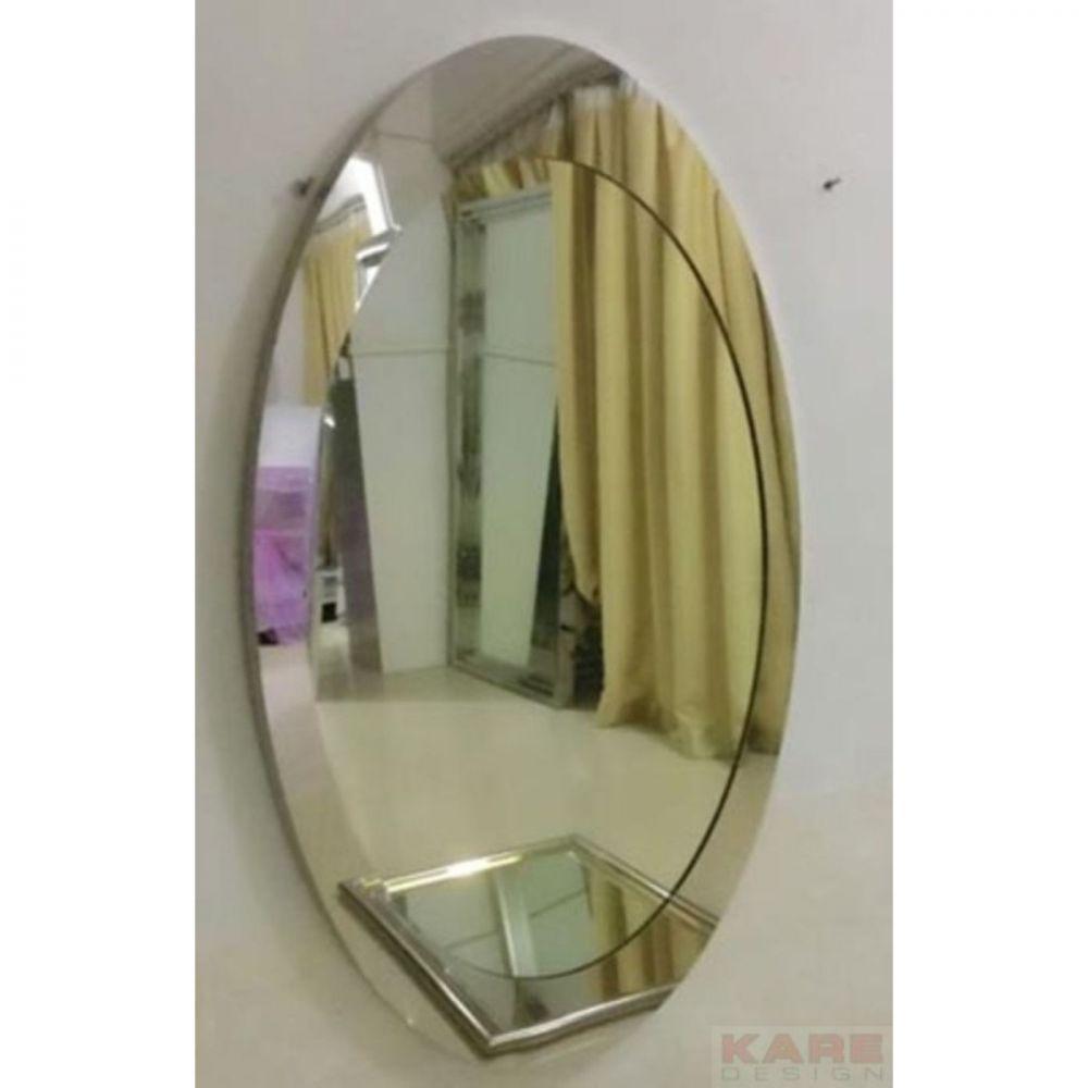 Mirror Steel Eye 100x60cm