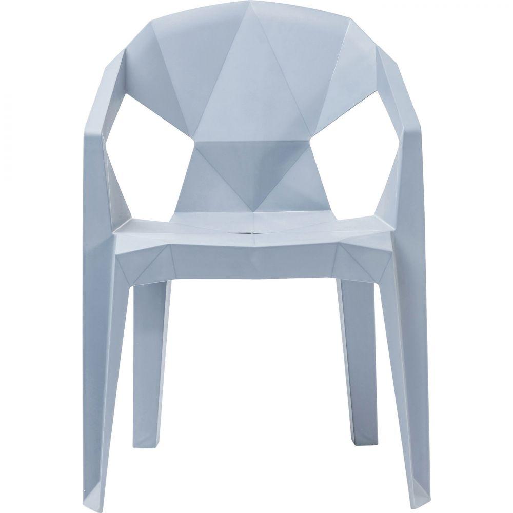 Chair Geometrial Grey