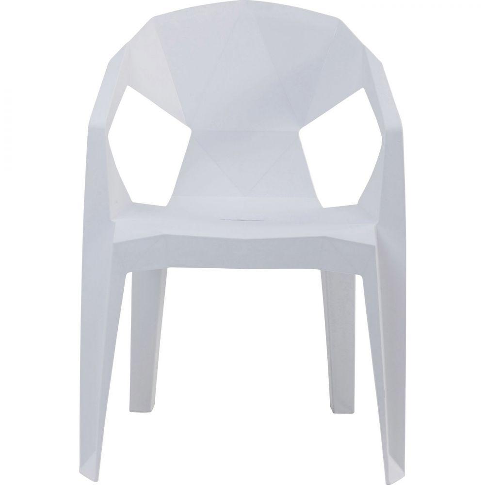 Chair Geometrial White