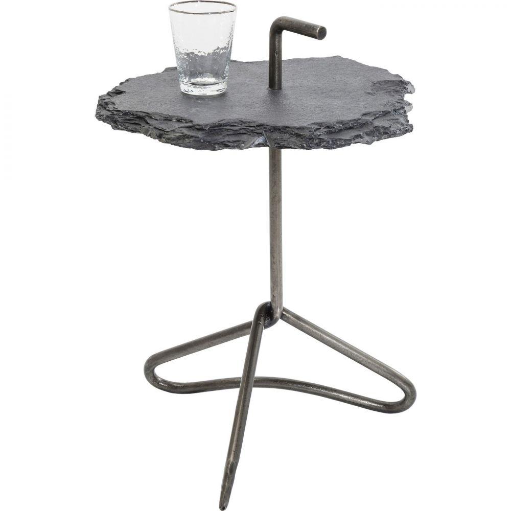 Side Table Vulcano Handle Ø48cm