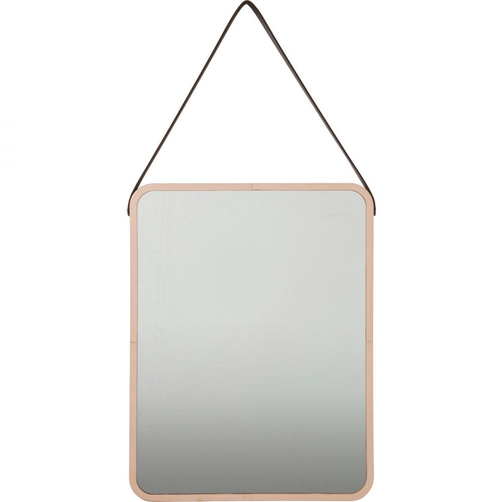 Mirror Salute Rectangular Copper 52x40