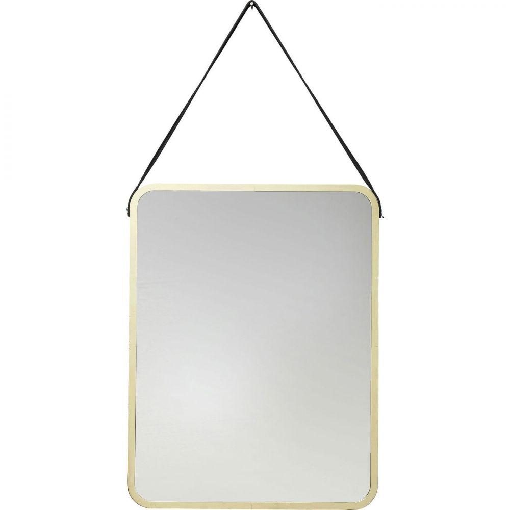 Mirror Salute Rectangular Gold 52x40cm