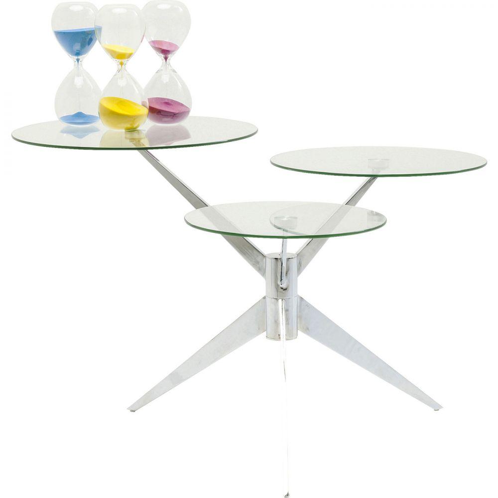 Coffee Table Bonsai Tre Chrome