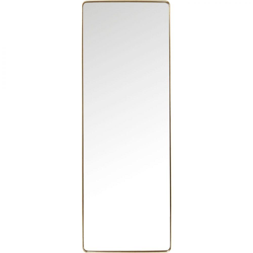 Mirror Curve Rectangular Brass 200x70c