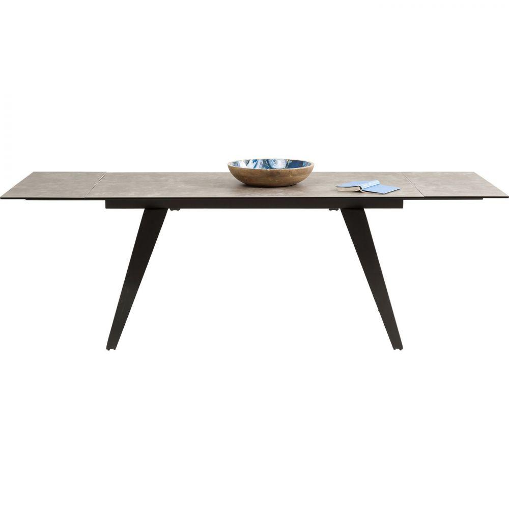 Extension Table Amsterdam Dark 160(40+40)x90cm