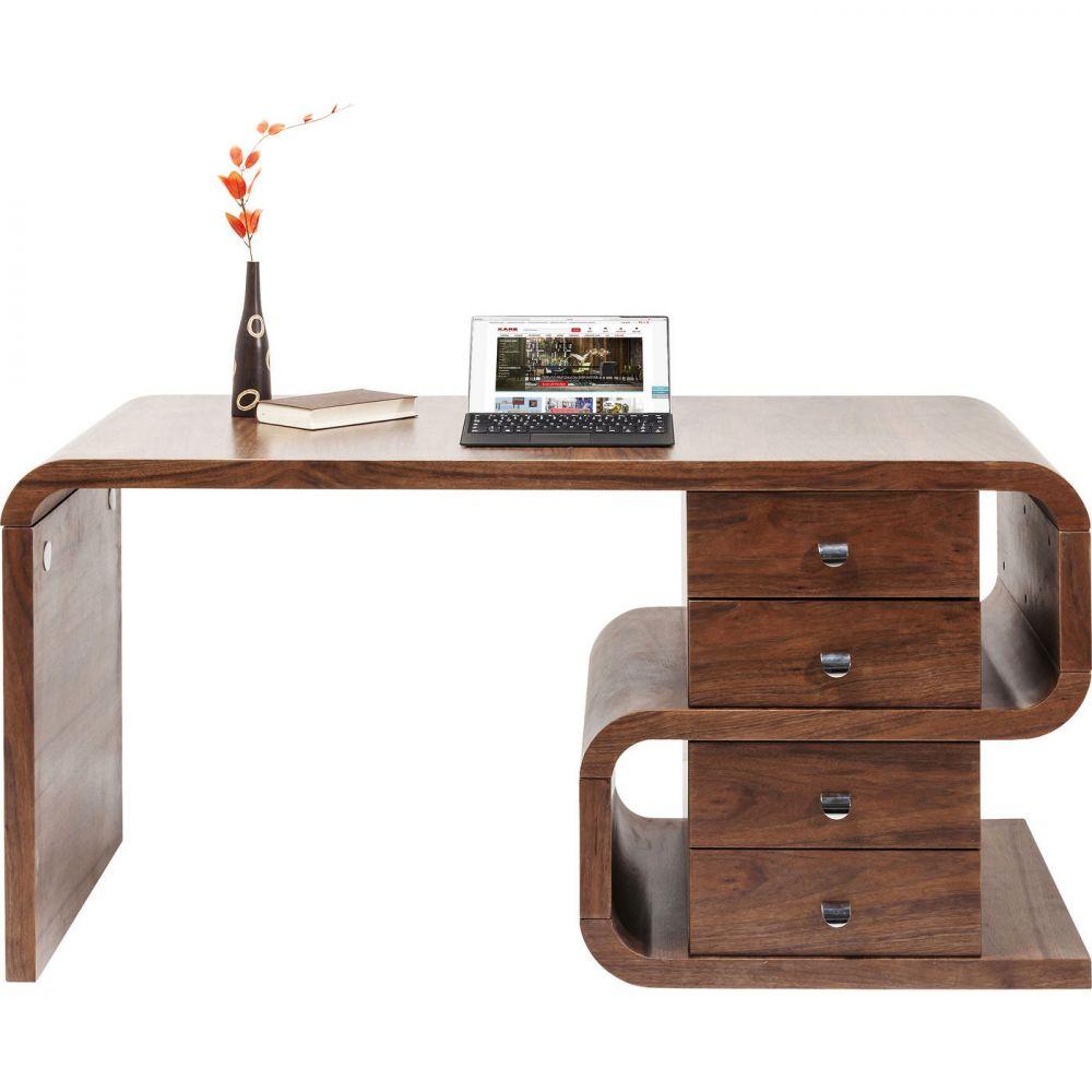 Desk Soft Snake Walnut 150x70cm