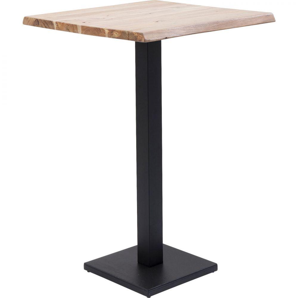 Bar Table Black Nature 70x70cm