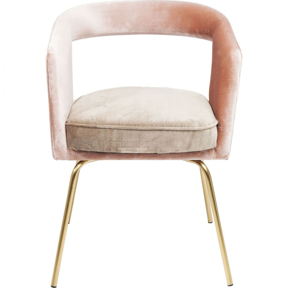 Cocktail Chair Rimini Rose-Green