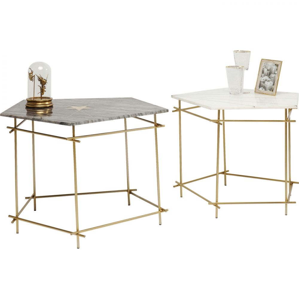 Side Table Mystic Pentagon (2/Set)