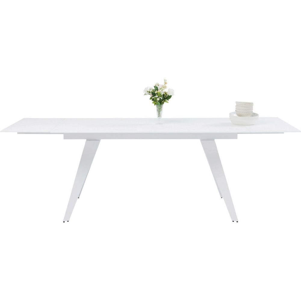 Extension Table Amsterdam White 160(40+40)x90cm