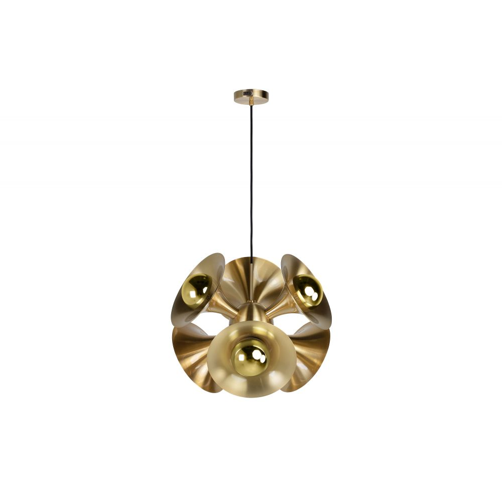Jazz Hanging Lamp Brushed Brass (Excluding Bulb And Socket)