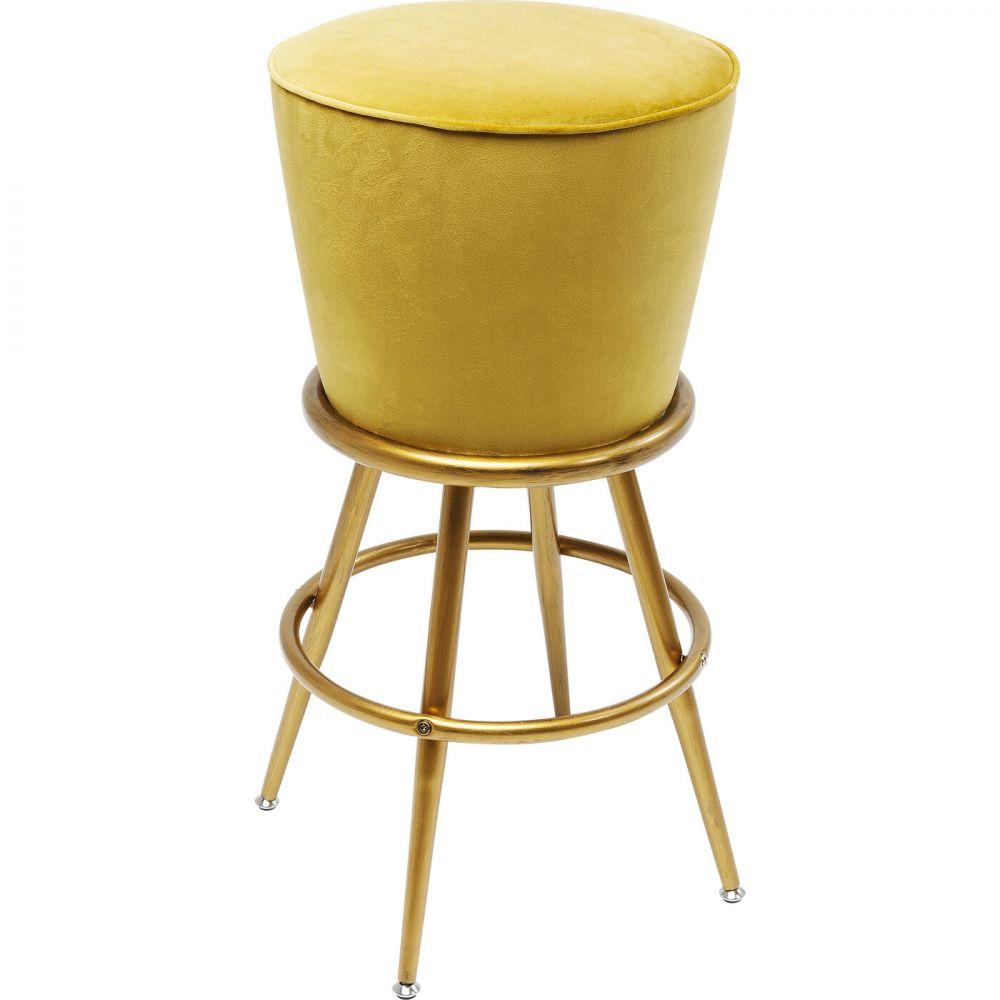 Bar Stool Lady Rock Yellow