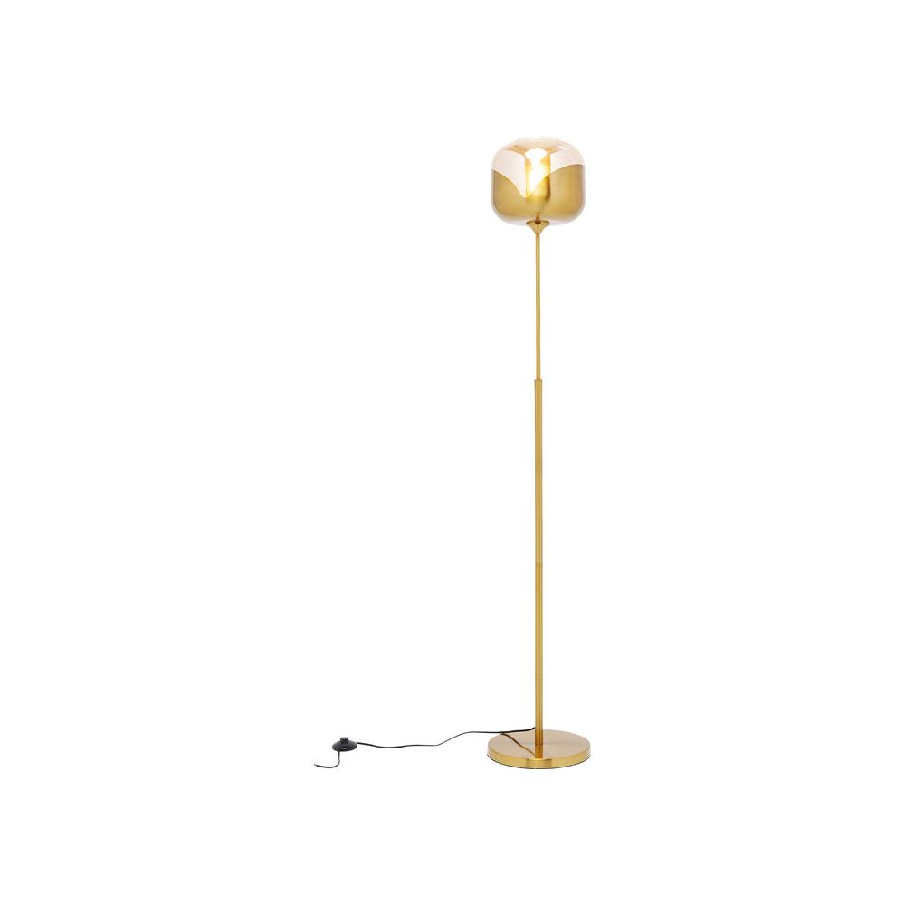 Floor Lamp Golden Goblet Ball,Golden (Excluding Bulb)