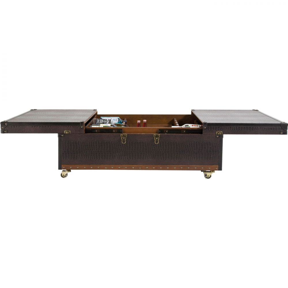 Coffee Table Bar Colonial 120x75cm