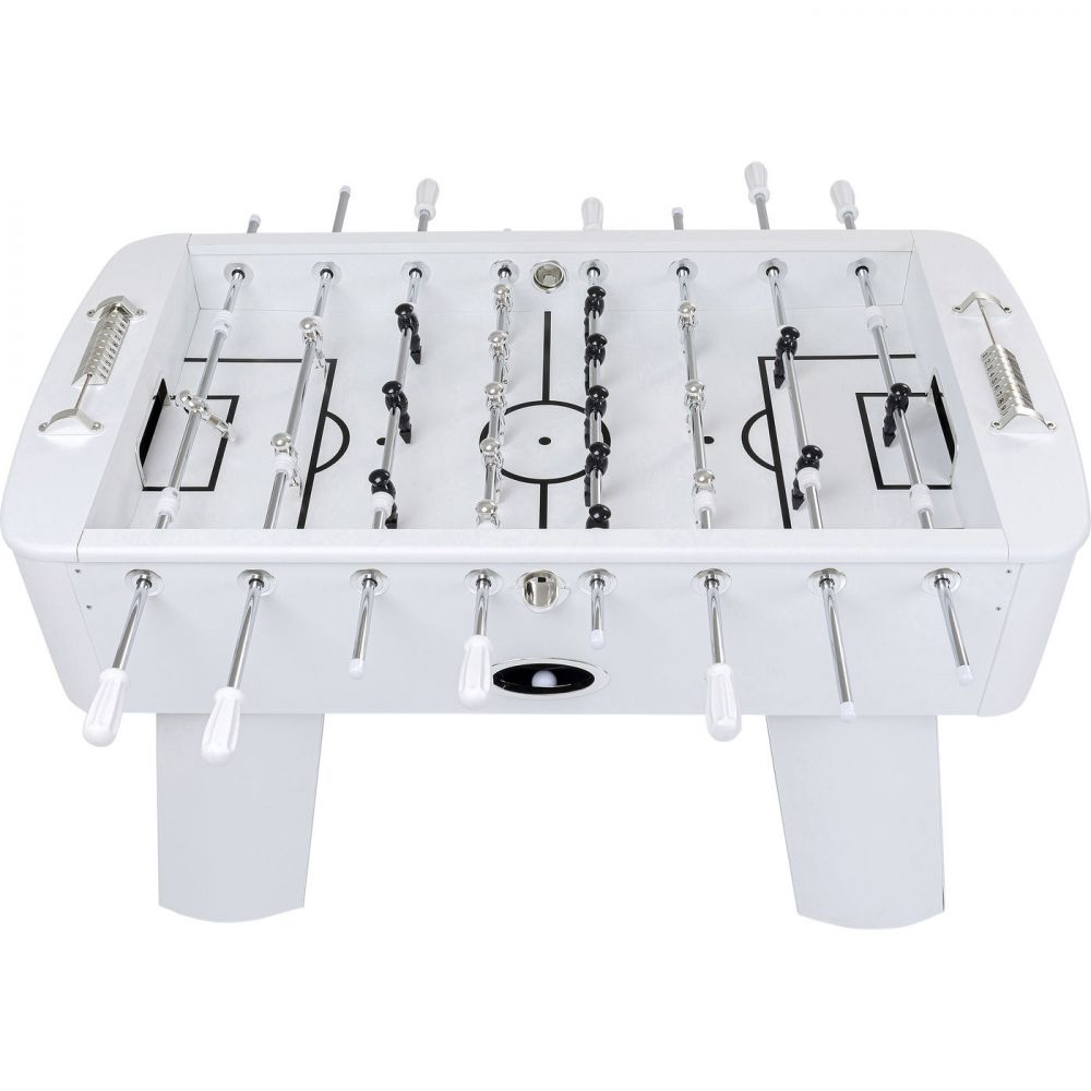 Soccer Table Style White