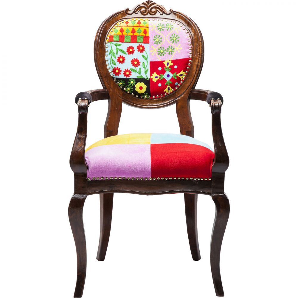 Chair with Armrest Louisa Fiesta Color