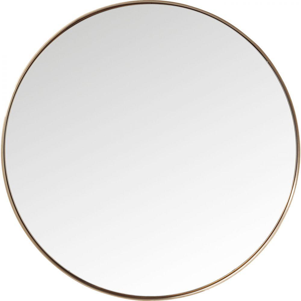Mirror Curve Round Copper Ø100cm