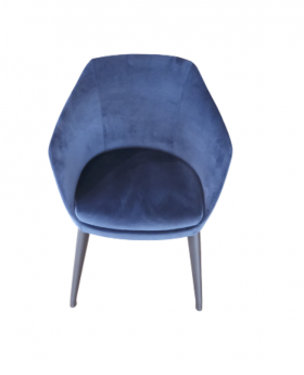 ALERIA DINING CHAIR,BLUE,FAB