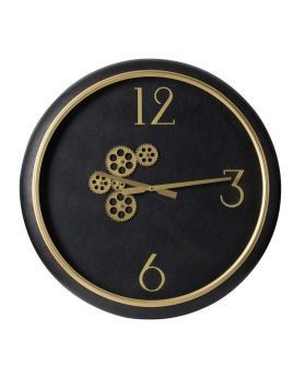 WALL CLOCK    'SATURN'  D62x8cm