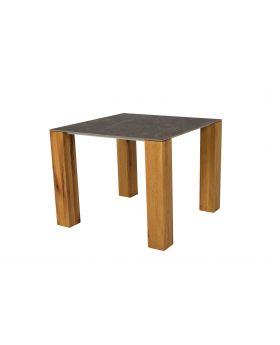 THIN LAMP TABLE  BROWN/WILD OAK