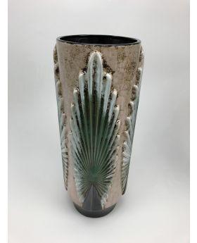 Vase Ceramics 'Palmeras' H46