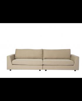 Bixley 3-Seater Sofa Sand/Black Leg