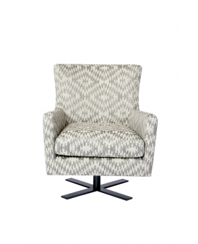 Venus Sofa Chair Grey Fab