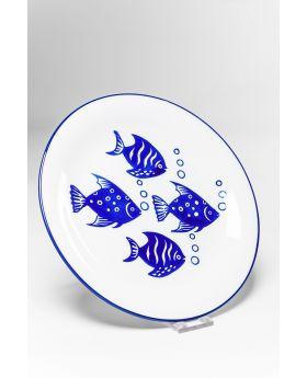 Plate Aquarium DIA22Cmblue