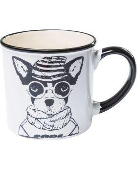 Mug Cool Dogs White