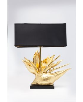 TABLE LAMP TROPICAL FLOWER