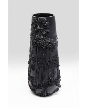 VASE JUNGLE BLACK 83CM