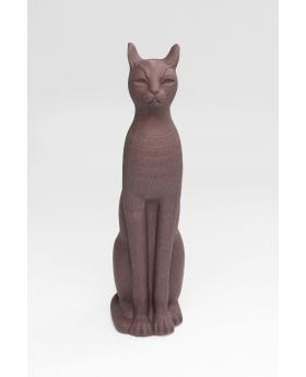 Deco Object Cat 77Cm,Grey