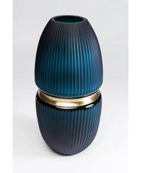 Vase Cesar Ring 45Cm,Blue