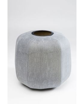 Vase Rock Edge 31Cm,Grey