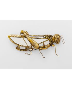 WALL DECORATION GRASSHOPPER MIRROR