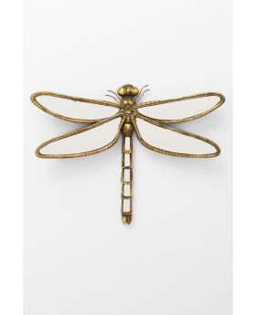 WALL DECORATION DRAGONFLY MIRROR