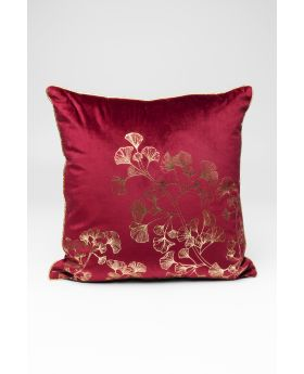 Cushion N Gingko Tree Purple 45X45Cm