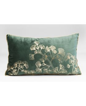 CUSHION GINGKO TREE GREEN 30X50CM