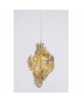 PENDANT LAMP LEAF GOLD (EXCLUDING BULB)