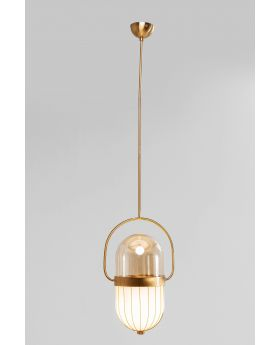 PENDANT LAMP SWING JAZZ OVAL  (EXCLUDING BULB AND SOCKET)