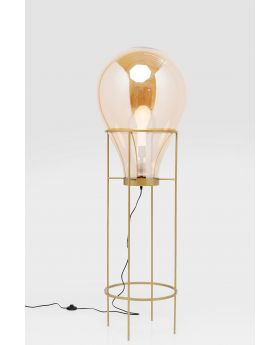 FLOOR LAMP PEAR FRAME 158CM (EXCLUDING BULB)